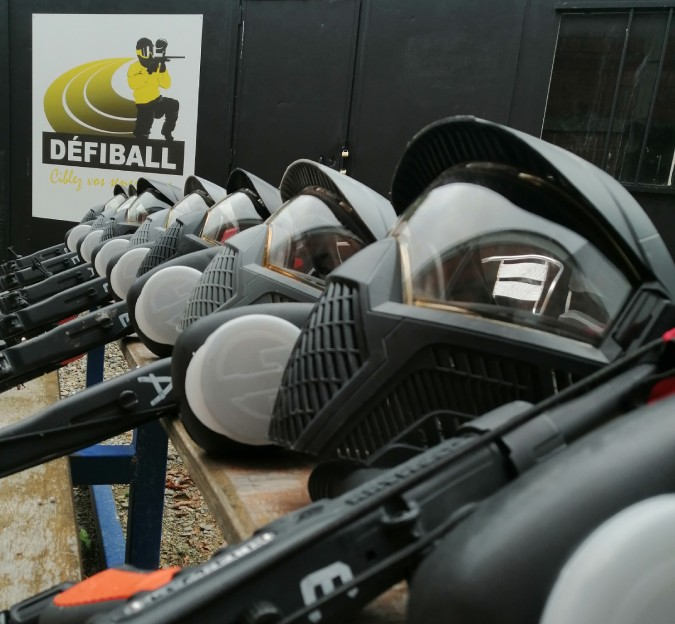 Defiball Paintball à Toulouse